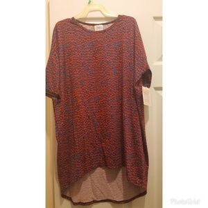 Lularoe new irma shirt xxs
